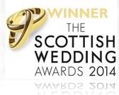 Winner ! Scottish Wedding Awards 2014